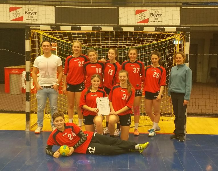 Die Handballerinnen Und Handballer Erreichen Das Bezirksfinale